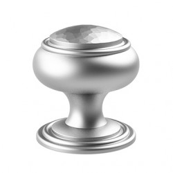 "Merit 445 Huntingdon Collection 2-1/8"" Diameter Hand Peened Knob"