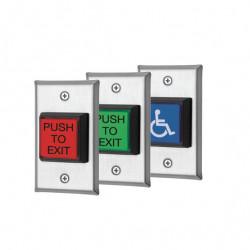 "Locknetics LED illuminated 2"" Push Button"