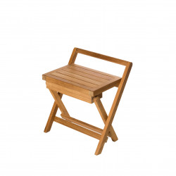 ARB Teak BEN560 Folding Shower Bench w/ Handle 16in.