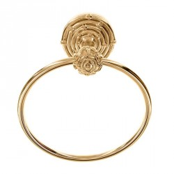 Vicenza TR9013 Fluer de Lis French Square Towel Ring
