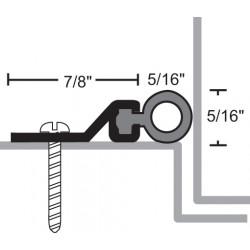 NGP 161S Aluminum Silicone Perimeter Seal