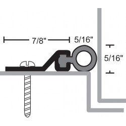 NGP 161V Aluminum Vinyl Perimeter Seal