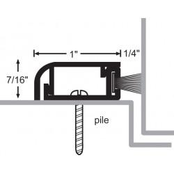 NGP 170P Aluminum Pile Perimeter Seal w/ Concealed Fastener