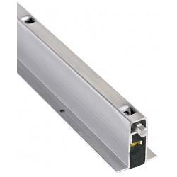 NGP 335N Aluminum Mortise Automatic Door Bottom w/ Neoprene Seal