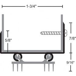 NGP 36ET6 Aluminum Thermoplastic Door Shoe