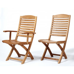 ARB Teak CHR5 Manhattan Folding Chair