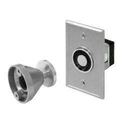 Pamex EMH-R Magnetic Door Holder - Recess Mount, Aluminum