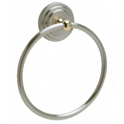 Pamex BS9 Eureka Collection Metal Towel Ring