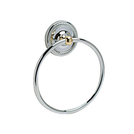 Pamex BS8 La Quinta Collection Metal Towel Ring