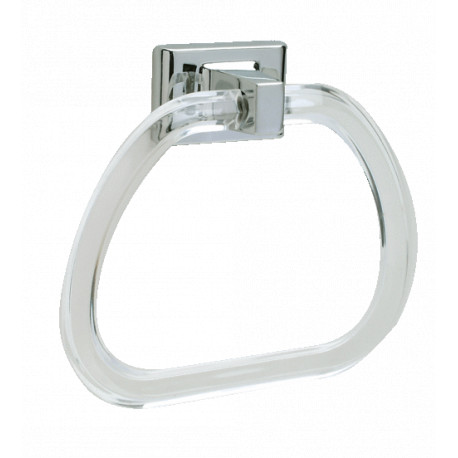 Pamex BC2CP-31 Lucite Towel Ring