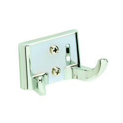 Pamex BE2CP-22 Edison Collection Double Robe Hook