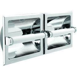 Pamex BC3CP-44D Twin Recessed Paper Holder