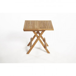 ARB Teak TAB Teak Folding Side Table