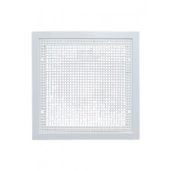 American Louver STR-ERFG Stratus Plastic Square Duct Ready Filter Grille
