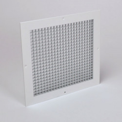 "American Louver AG 1/2"" Cube Aluminum Eggcrate Grille w/ Mounting Holes"