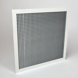 "American Louver SG 1/2"" Cube at 45° Eggcrate Grille For T-Bar Ceiling"