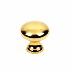 "Century 11902-3 Elegance Knob, 1"" Diameter, Solid Brass"