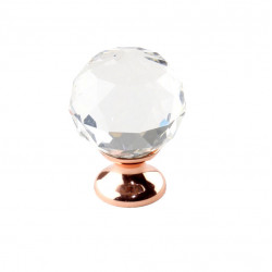 "Century 18905 Tahoe Glass Knob, 1 1/4"" Diameter"