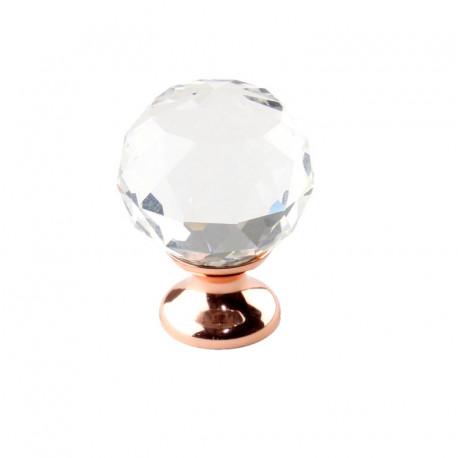 "Century 18905 Tahoe Glass Knob, 1 1/4"" Diameter"