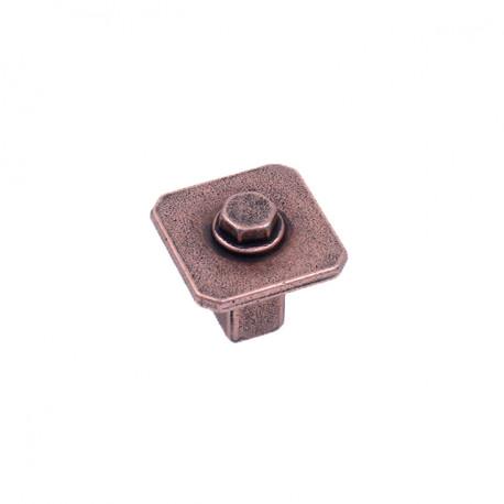 """Century 20223 Raw Authentic Square Knob, 1 1/16"""" Diameter"""