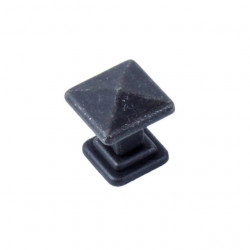 "Century 20227 Raw Authentic Square Knob, 1"" Diameter"