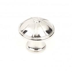 "Century 25505-14 Cali Knob, Polished Nickel, 1 1/4"" Diameter"