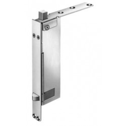 Burns Manufacturing 7940 Non-Handed Automatic Flush Single Bolt - Wood Door