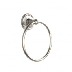 "Century 81320 Aria 6 3/8"" Towel Ring"