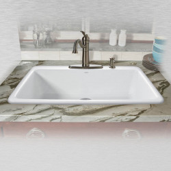 "Ceco 753 Self Rimming Kitchen Sink 33""x22""x9"", Single Bowl"