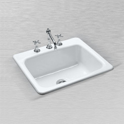 "Ceco 757 Kitchen Sink 25""x22""x9 3/4"", Single Bowl"