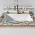 """Ceco 754-UM Single Bowl Undermount Kitchen Sink, 33""""x19.5""""x9"""""""