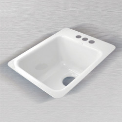 "Ceco 721 C Vegetable/Bar Sink, 16""x20""x9"""