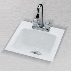 "Ceco 724 Bar Sink, 15""x15""x7"""
