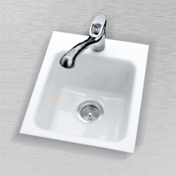 "Ceco 728 Vegetable/Bar Sink, 16""x20""x9"""