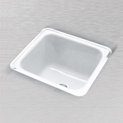 "Ceco 800 Rectangular Laundry Tray, 20""x18""x12"""