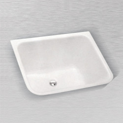 "Ceco 804 Rectangular Laundry Tray, 24""x20""x12"""
