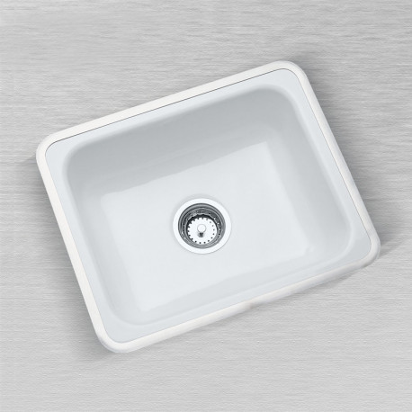 Ceco 720 Flat Rim Kitchen Sink, ADA Approved