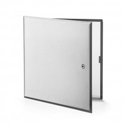 Cendrex CTR, Flush Universal Stainless Steel Access Door With Hidden Flange