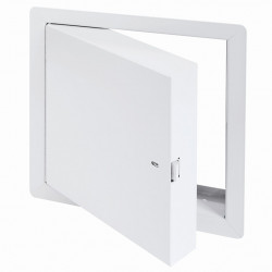 Cendrex PFI-HS, Fire-Rated Insulated Access Door For High Security With Exposed Flange