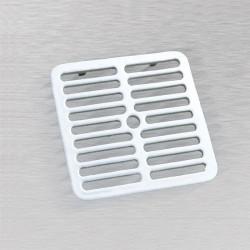 Ceco 900 Floor Sink Full Top Grate, White