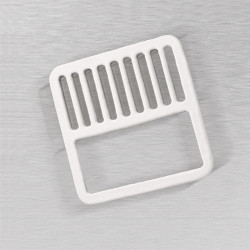 Ceco 912 Floor Skink Half Top Grate, White