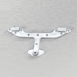 Ceco T Wall Hanger, Metal Rim Mount