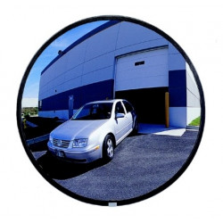 See All N Glass Indoor Round Convex Mirrors