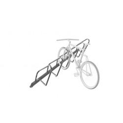 Sport Works 3013-W-06 Plaza Junior Rack, Single-Sided, Welded, 6 Bike