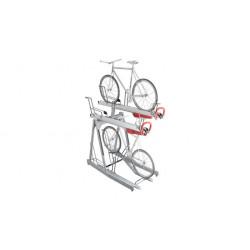 Sport Works VelopA Bike Rack, Two Tier, Easylift Premium ICF, XX bike, Galvanized, Project name