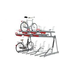 Sport Works VelopA Bike Rack, Two Tier, CapaCITY ICF, XX bike, Galvanized, Project name