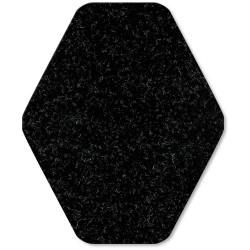 WizKid D-40001 Antimicrobial Diamond Cut Urinal Mat