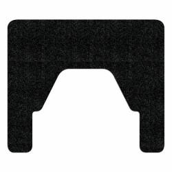 WizKid FMS Antimicrobial Square Nose Floor Mount Urinal Mat