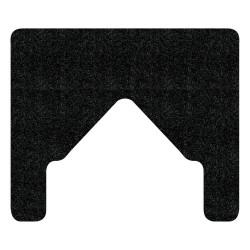WizKid FMB Antimicrobial Bull Nose Floor Mount Urinal Mat
