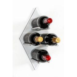 Ultra Wine Racks UDP, Diamond Fusion Wine Rack Panel, Port Alum-PT-ALUM